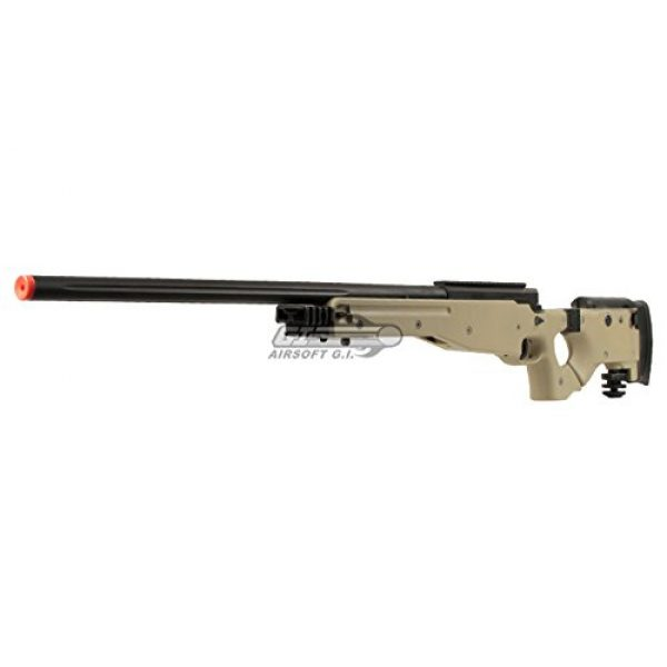 Well Airsoft Rifle 3 Well Full Metal MB08 Bolt Action Sniper Rifle (Tan/Scope Package)