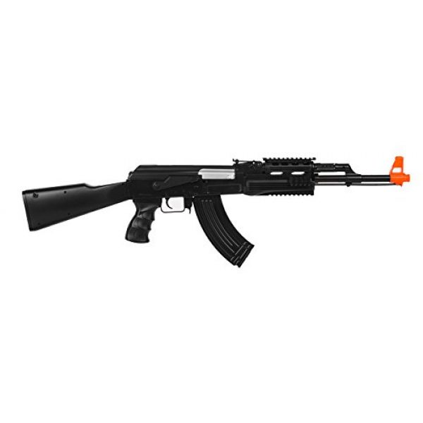 UKARMS Airsoft Rifle 1 UKARMS AK-47 AEG Semi/Full Auto Electric Airsoft Rifle Gun High Capacity Magazine FPS 150
