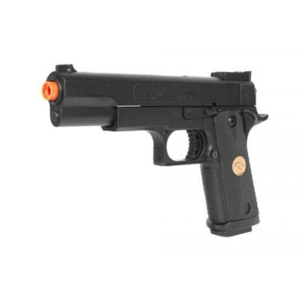 Double Eagle Airsoft Pistol 2 Double Eagle A&N 275FPS P169 1911 Airsoft Hand Gun Full Size Spring Pistol w 6mm BBS BB Fantastic Starter Airsoft Pistol Government .45