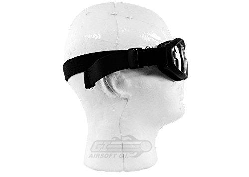 Bravo! Airsoft Goggle 3 Bravo Airsoft Compact Goggles (Black)