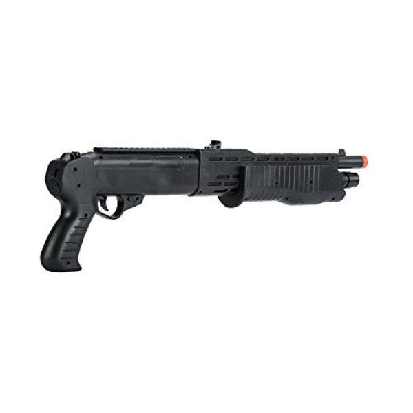 BBTac Airsoft Rifle 7 BBTac Airsoft Sniper Gun Package - Powerful Spring Sniper Rifle, Shotgun, 6mm BB Pellets, Great Starter Pack