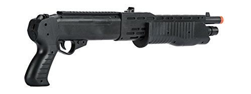 BBTac  2 BBTac Airsoft Shotgun BT12 Pump Action Spas - Tactical Weaver Top Rail