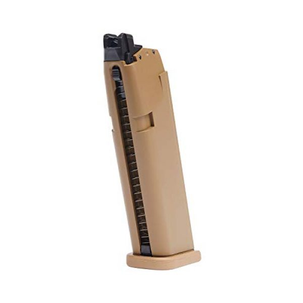 Umarex Airsoft Gun Magazine 1 GLOCK 19X GBB Blowback 6mm BB Pistol Airsoft Gun, Spare 20-Shot Magazine (Mag Only)