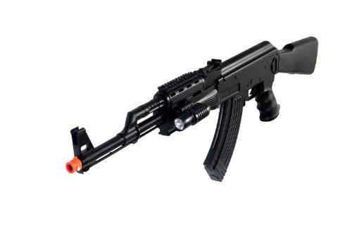 UKARMS  2 UKARMS P48 Airsoft Gun Tactical AK-47 Spring Rifle with Flashlight FPS 250