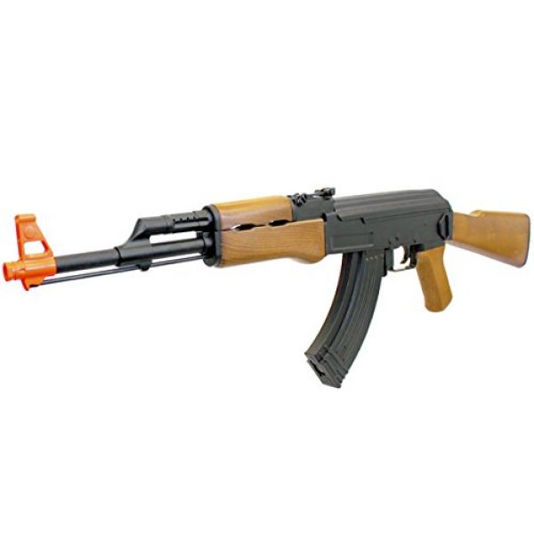 BBTac Airsoft Rifle 1 BBTac BT-022 Airsoft Gun Electric Rifle Full Size Automatic, large magazine, ready to play package
