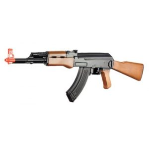 Velocity Airsoft Airsoft Rifle 1 cyma cm022 ak-47 Electric Airsoft Gun Full auto Faux Wood fps-230(Airsoft Gun)