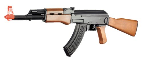 Velocity Airsoft  1 cyma cm022 ak-47 Electric Airsoft Gun Full auto Faux Wood fps-230(Airsoft Gun)