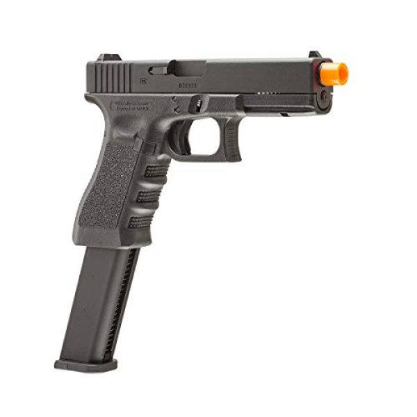 Elite Force Airsoft Pistol 3 Elite Force Glock 18C Gen3 GBB Blowback 6mm BB Pistol Airsoft Gun, Black