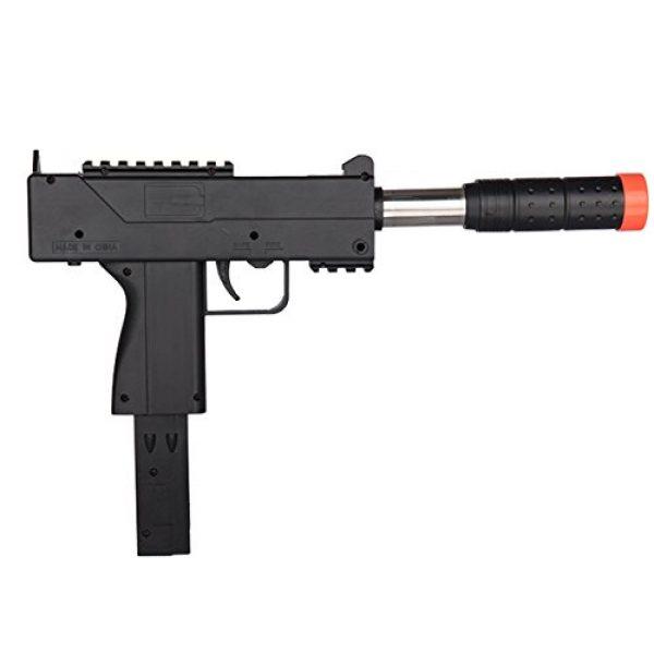 UKARMS Airsoft SMG Rifle 2 UKARMS Spring MAC Uzi Airsoft Gun SMG Pistol w/ 6mm BBS + Detachable Magazine