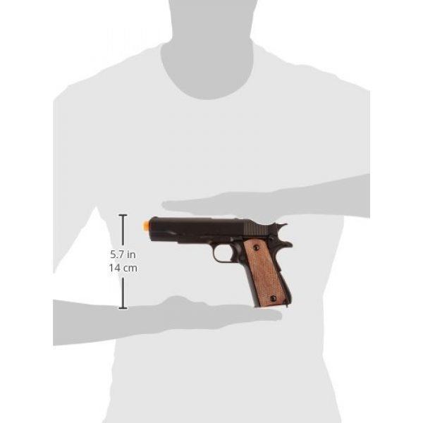BBTac Airsoft Pistol 5 BBTac BT-1911A1 Metal and ABS Spring Airsoft Pistol 250-FPS Airsoft Gun