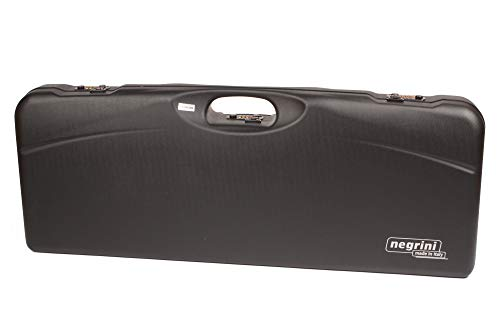 Negrini Cases Airsoft Gun Case 1 Negrini Cases 1652LR-TS/5040 Shotgun Case for O/U ABS/1 Gun/1 Barrel up to 33 1/2-Inch with 3 Tube Set