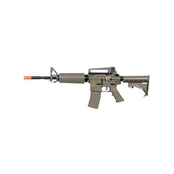 Lancer Tactical Airsoft Rifle 1 Lancer Tactical LT-06T M4A1 Airsoft Electric Gun Metal Gear FPS-400 - Dark Earth