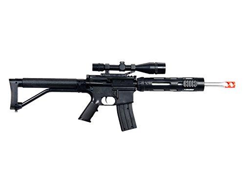 UKARMS Airsoft Rifle 3 UKARMS P1136 Marksman Sniper Spring Airsoft Rifle & Pistol Combo Gun Set FPS 260