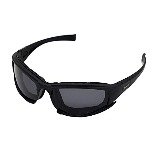 ZoliTime Airsoft Goggle 1 Daisy x7 Polarized Outdoor Tactical Sunglasses Windproof Military 4 Lens Kit Tactical Goggles