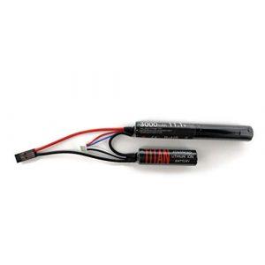 TITAN Airsoft Battery 1 TITAN 3000mAh 11.1v Nunchuck Tamiya