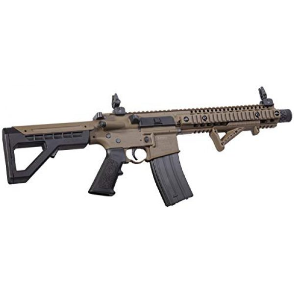 DPMS Air Rifle 2 DPMS Full Auto SBR CO2-Powered BB Air Rifle with Dual Action Capability