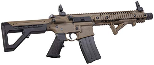 DPMS Airsoft Rifle 2 DPMS Full Auto SBR CO2-Powered BB Air Rifle with Dual Action Capability