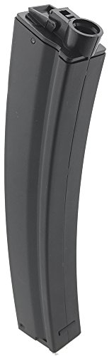 SportPro  2 SportPro 260 Round Metal High Capacity Magazine for AEG MP5 Airsoft - Black