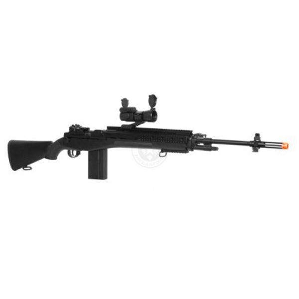 AGM Airsoft Rifle 2 400 fps agm airsoft m14 ris spring sniper rifle w/ red dot(Airsoft Gun)