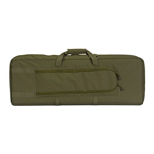 "Lancer Tactical Airsoft Gun Case 2 Lancer Tactical 36"" Padded Double Tactical Airsoft Bag w/Lockable Zipper CA-982"