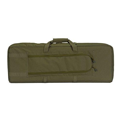 "Lancer Tactical Airsoft Gun Case 2 Lancer Tactical 36"" Padded Double Tactical Airsoft Bag w/Lockable Zipper CA-982"