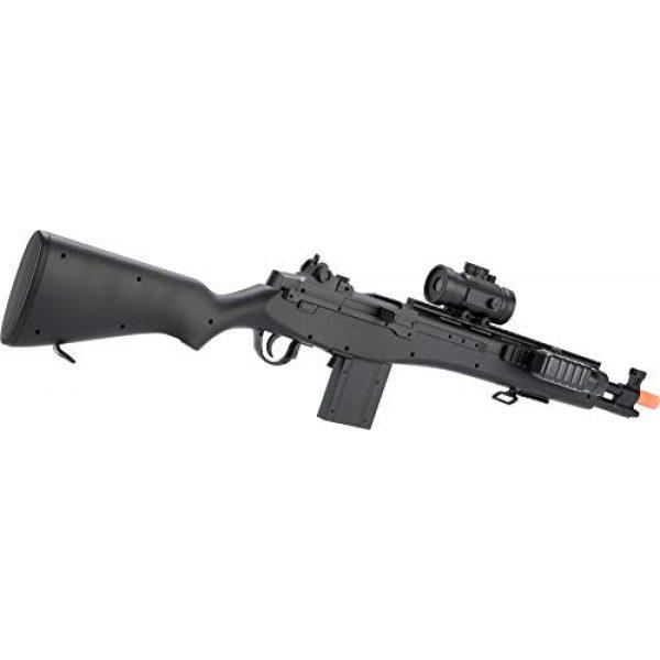 Evike Airsoft Rifle 2 Double Eagle M14 Socom RIS Carbine Spring Airsoft Gun (Black)