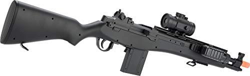 Evike  2 Double Eagle M14 Socom RIS Carbine Spring Airsoft Gun (Black)