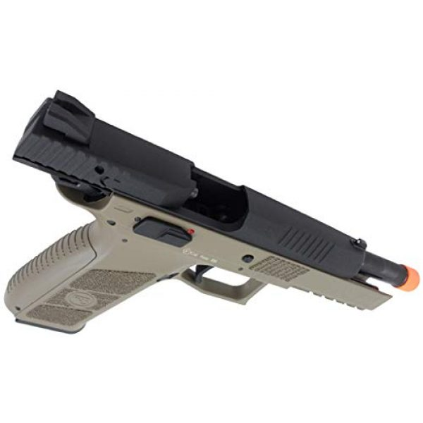 ASG Airsoft Pistol 3 ASG CZ P-09 Gas Powered Airsoft Pistol with Outer Barrel Threading