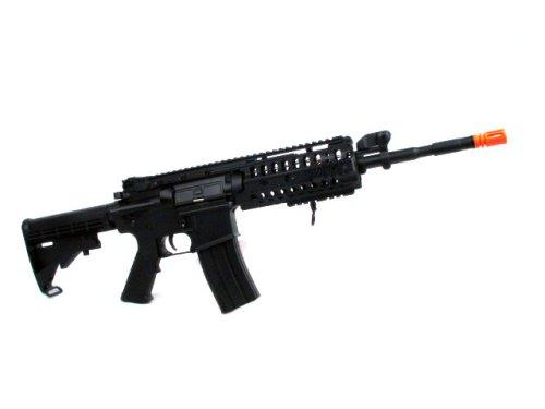 Jing Gong Airsoft Rifle 2 Jing Gong JG M4 RIS System Airsoft Gun 500 FPS