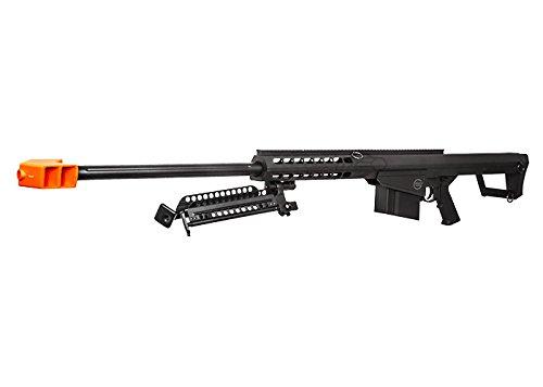 Lancer Tactical  3 Lancer Tactical M82 Polymer Spring Sniper Rifle w/Bipod Airsoft Gun