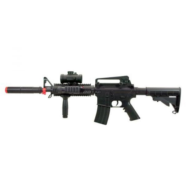 BBTac Airsoft Rifle 5 BBTac M83 Full Auto Electric Power Airsoft Gun LPEG/250 FPS/Red Dot Sight/Flash Light