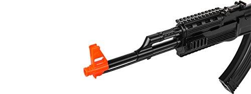 UKARMS Airsoft Rifle 5 UKARMS AK-47 AEG Semi/Full Auto Electric Airsoft Rifle Gun High Capacity Magazine FPS 150