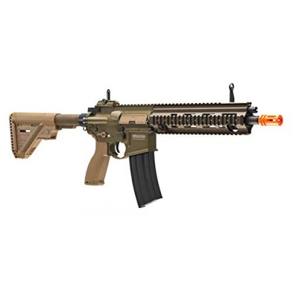 Elite Force Airsoft Rifle 4 Heckler & Koch Airsoft Rifle 416 A5 6mm Tan, Multi, One Size (2262069)