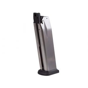 SPRINGFIELD ARMORY Airsoft Gun Magazine 1 SPRINGFIELD ARMORY XDM 25 Round Green Gas Airsoft Magazine, Fits 4.5 & 3.8 Pistols