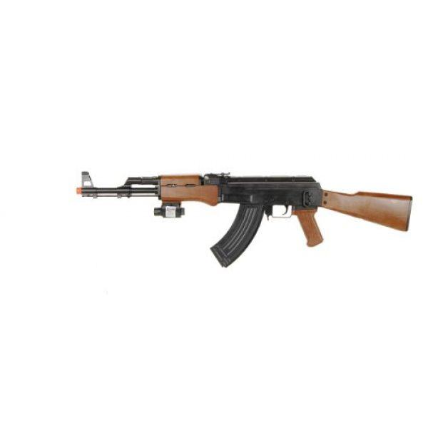 BBTac Airsoft Rifle 1 BBTac p1147 ak47 airsoft gun w/ tactical red dot light airsoft spring rifle, with BBTac warranty(Airsoft Gun)