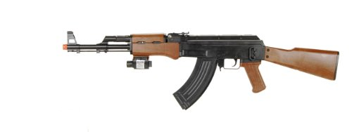 BBTac  1 BBTac p1147 ak47 airsoft gun w/ tactical red dot light airsoft spring rifle