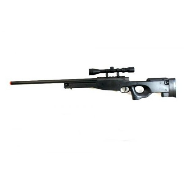 BBTac Airsoft Rifle 2 BBTac Airsoft Sniper Rifle 500 FPS BT-96 Full Metal Bolt Action AWP with 3x Scope Package