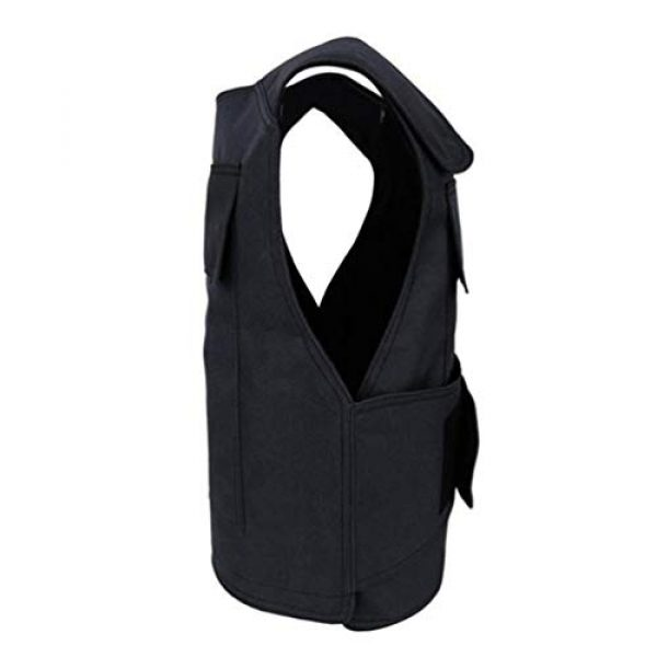 BESPORTBLE Airsoft Tactical Vest 3 BESPORTBLE Tactical Paintball Vest Army Airsoft Adjustable Vest Assurance Bullet Supplement Vest for Cosplay Combat War Game