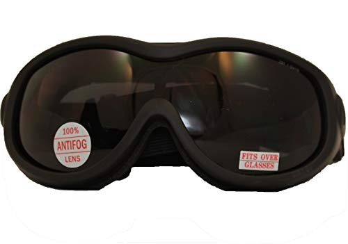 MotoProducts Airsoft Goggle 1 MotoProducts Tactical Over Glasses Goggles ANSI Z87.1 Antifog Open Cell Foam Smoke