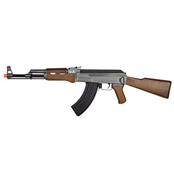 UKARMS Airsoft Rifle 1 UKARMS Lancer Tactical LT-728 AEG AK-47 Electric Airsoft Gun Rifle