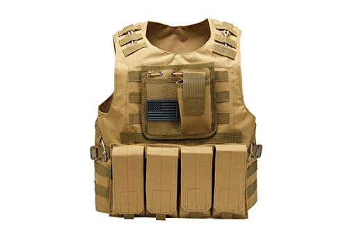 Redemption Tactical Airsoft Tactical Vest 1 Tactical Airsoft Paintball Vest