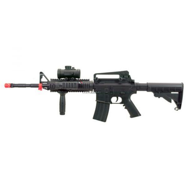 BBTac Airsoft Rifle 4 BBTac M83 Full Auto Electric Power Airsoft Gun LPEG/250 FPS/Red Dot Sight/Flash Light