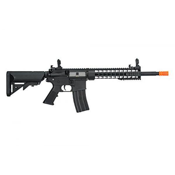 "Lancer Tactical Airsoft Rifle 3 Lancer Tactical G2 Airsoft LT-19B M4 Carbine 10"" AEG Rifle - BLACK"