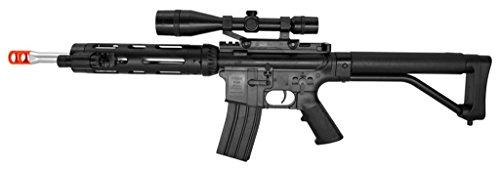 UKARMS  1 UKARMS P1136 Airsoft Gun P1136 M4 Tactical Rifle Pistol 2 in 1 Guns