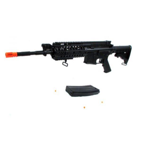 Jing Gong (JG) Airsoft Rifle 3 Jing Gong JG M4 RIS System Airsoft Gun 500 FPS