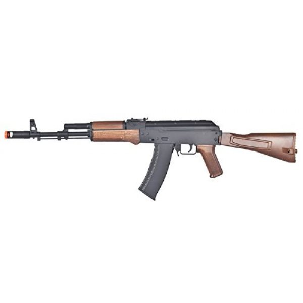 Well Airsoft Rifle 1 Wells D74 AK47 Full Automatic Electric Airsoft Gun, Wood