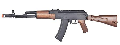 Wells Airsoft Rifle 1 Wells D74 AK47 Full Automatic Electric Airsoft Gun