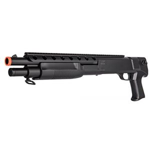 Double Eagle Airsoft Shotgun 1 Double Eagle 440 FPS 1:1 Pump Action Pistol Grip Spring Powered Airsoft Shotgun