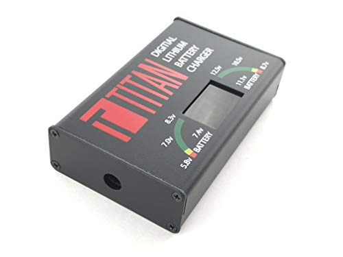 TITAN Airsoft Battery Charger 3 TITAN Digital Charger Lithium Ion Airsoft