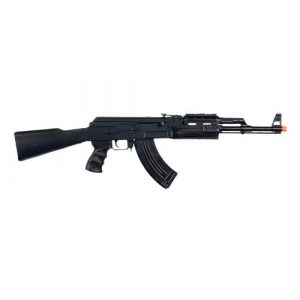 UKARMS Airsoft Rifle 1 UKARMS P48 Airsoft Gun Tactical AK-47 Spring Rifle with Flashlight FPS 250